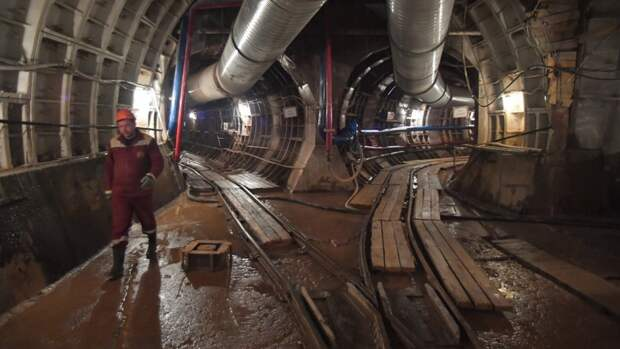 Власти Москвы сообщили о завершении проходки седьмого тоннеля на Троицкой линии метро