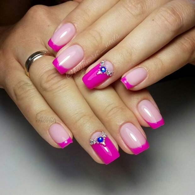 розовый френч фото 4