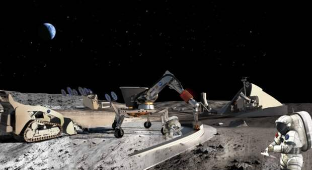 Rolls-Royce разрабатывает ядерный реактор для добычи полезных ископаемых на Луне