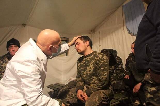 На Донбассе в больницы положили 400 солдат ВСУ с ОРВИ и пневмонией