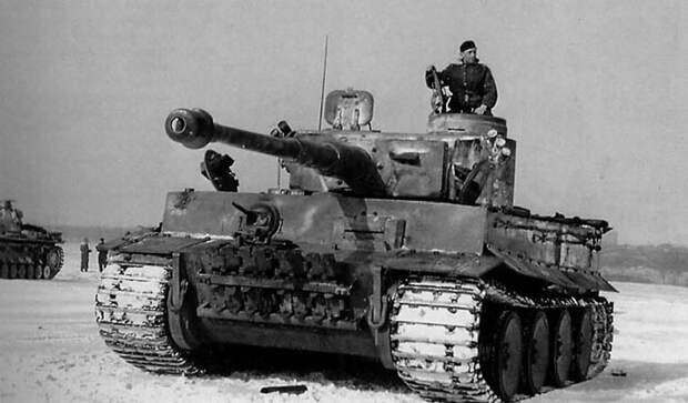 «Тигр»: как стрелял лучший танк Третьего рейха