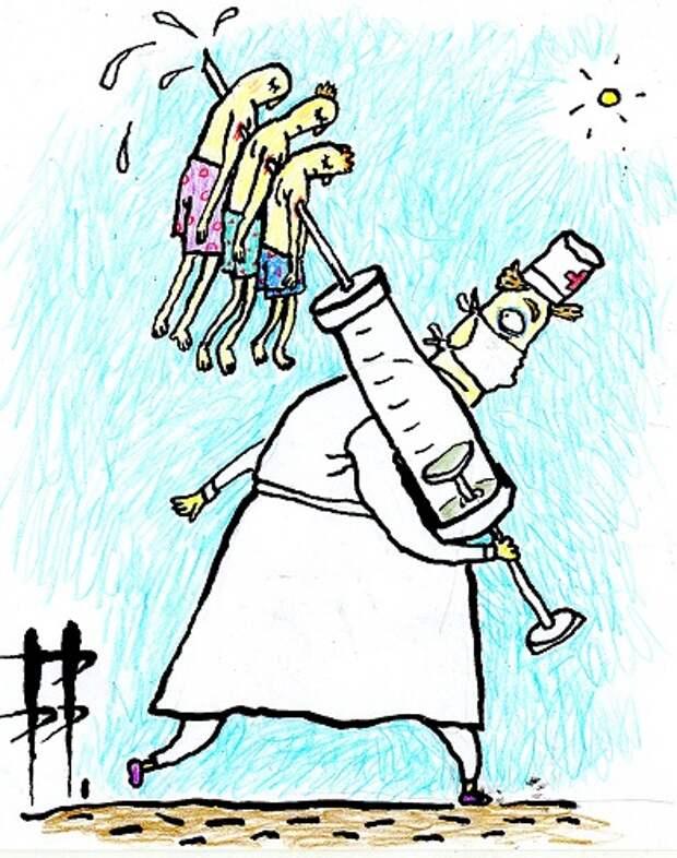 МИР УЦЕЛЕЛ ПОТОМУ, ЧТО ПРИВИЛСЯ? - Как люди объясняют отказ от вакцинации