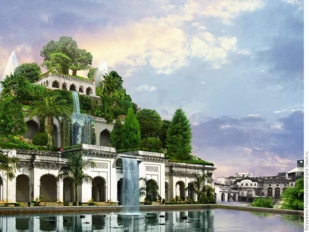 Сады на крыше: история и современность