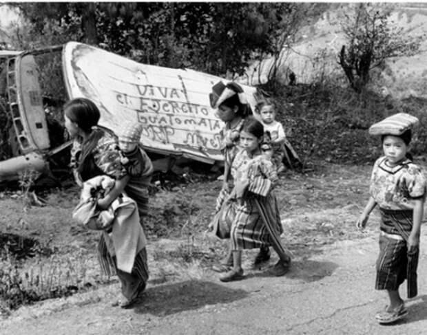 Соединенные Штаты являются ответственными за геноцид в Гватемале