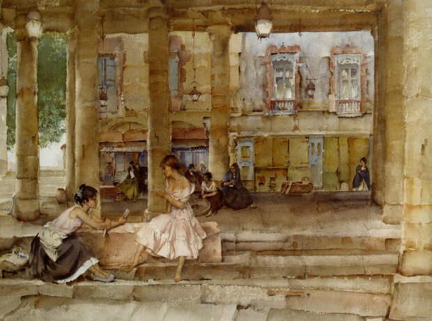 Акварельная симфония от William Russell Flint