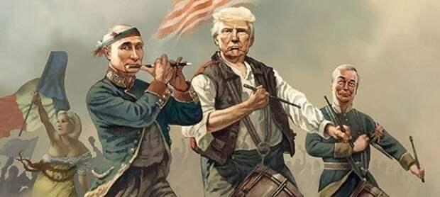 Ракетный блеф американцев и крах китайской геополитики. Жёсткая логика новой англосаксонской партии.