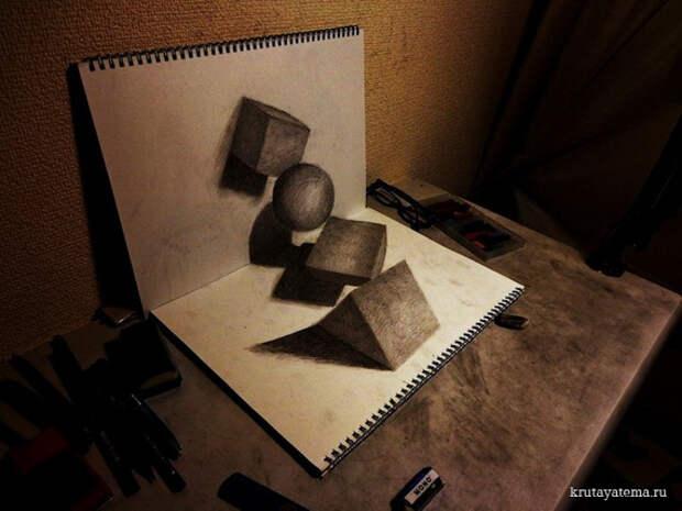 3D иллюстрации Нагаи Хидеюки