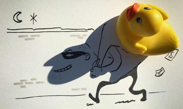 Искусство отбрасывать тень от бельгийца Винсента Баля