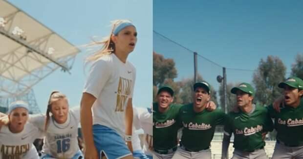 Nike поздравил атлетов и фанатов с возвращением спорта