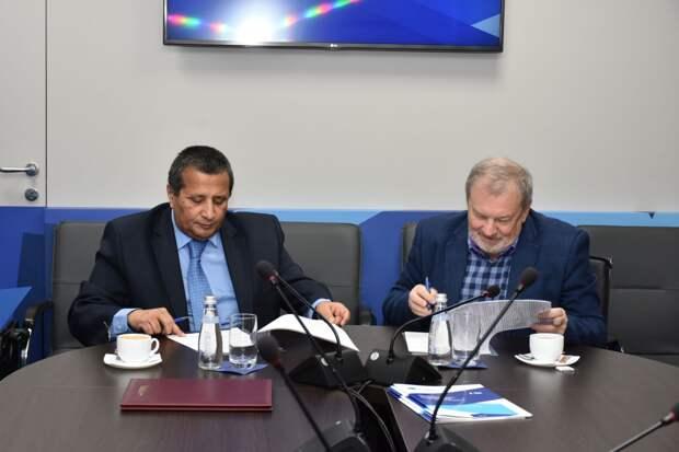 Клуб «Валдай» и Йеменский центр по международным делам заключили соглашение о сотрудничестве