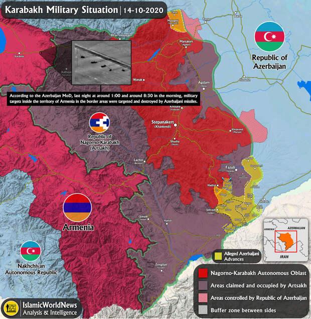 Коротко по Карабаху. 15.10.2020