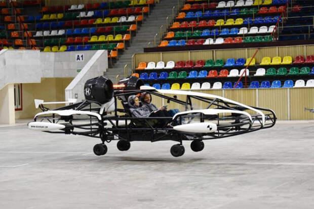 В России появился дрон-такси с искусственным интеллектом