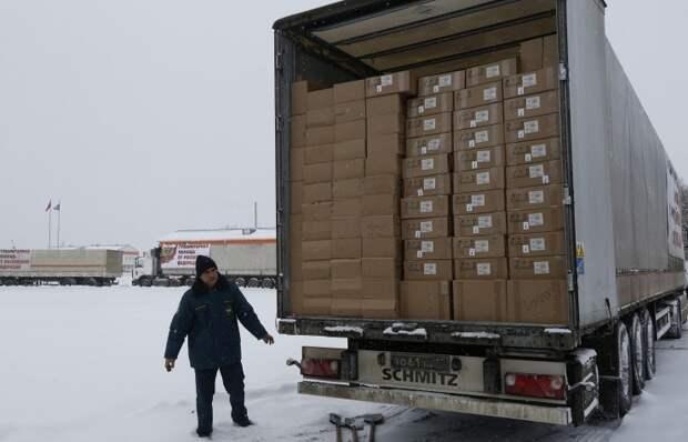ООН запросила у России полную опись доставленной в Донбасс гуманитарной помощи