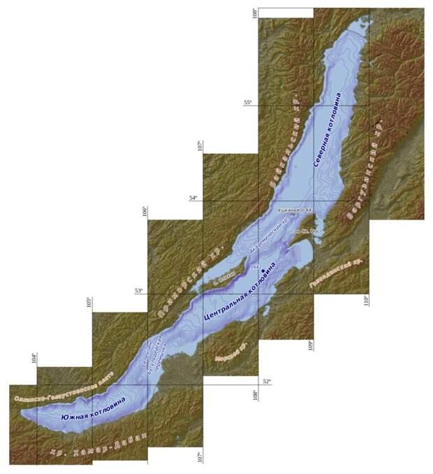 Вот как выглядит Байкал без воды