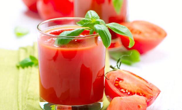 Пьем стакан томатного сока каждый день: приходим в тонус за месяц