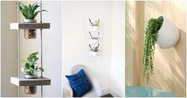 13 потрясающих идей вертикальных садов для комнат