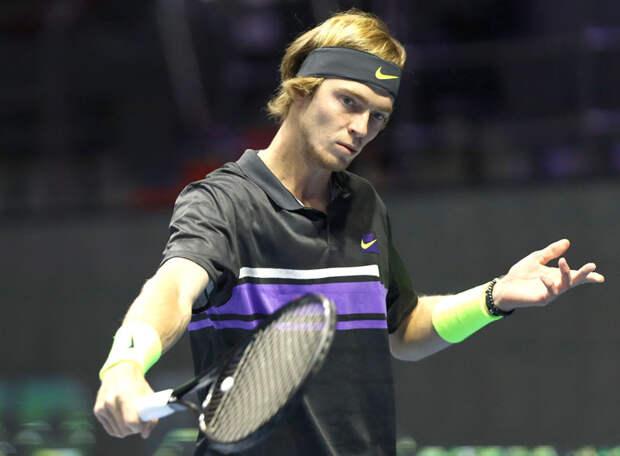 Рублев дошел до полуфинала, не выходя на корт! Это уникальное достижение российский теннисист установил на турнире в Дохе