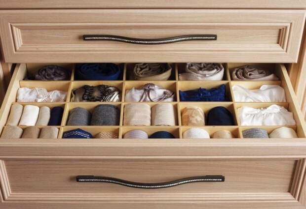 Порядок в мебельных ящиках