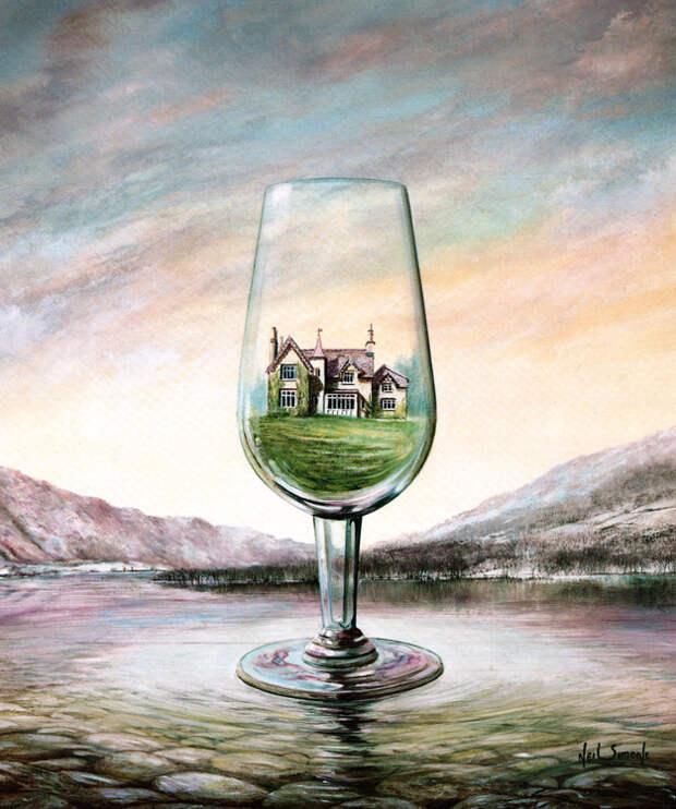 The House of Glass (25cm x 30cm)