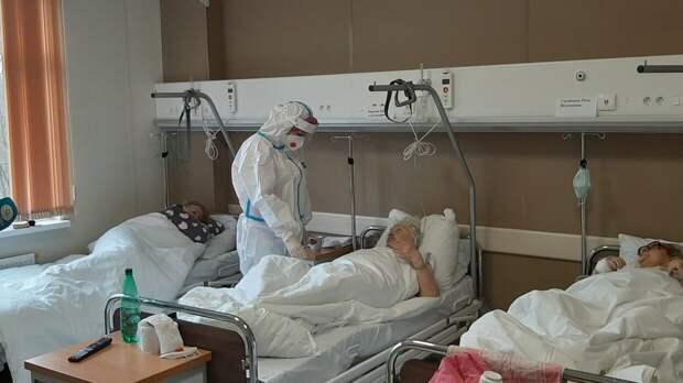Еще 8944 человека заболели коронавирусом в России