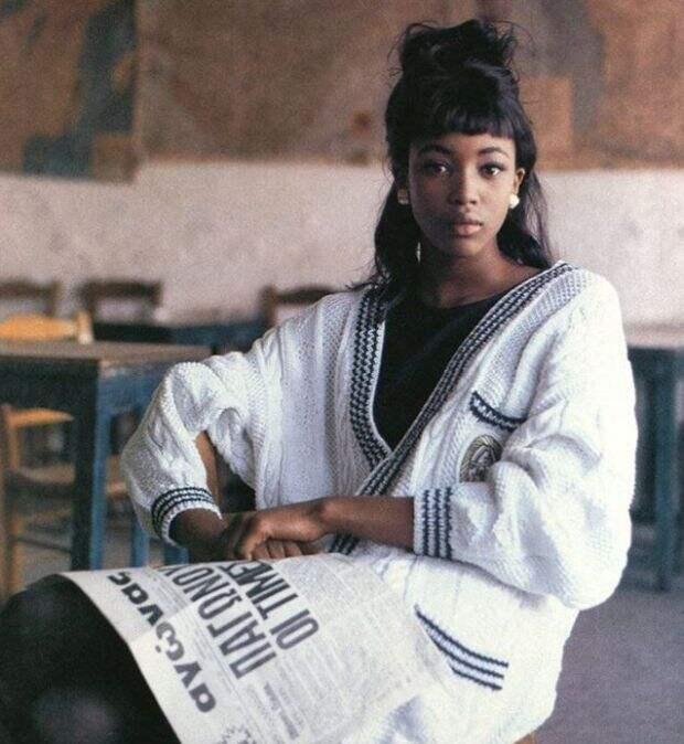 Юная Наоми Кэмпбелл. Посмотри как выглядела Чёрная пантера на заре своей карьеры.