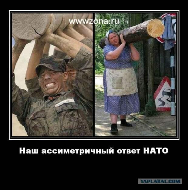 Кто пугает НАТОвских вояк?