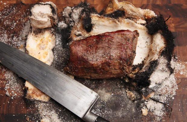 Как приготовить мясо в полотенце