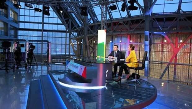Воробьев подведет итоги месяца в эфире телеканала 28 февраля