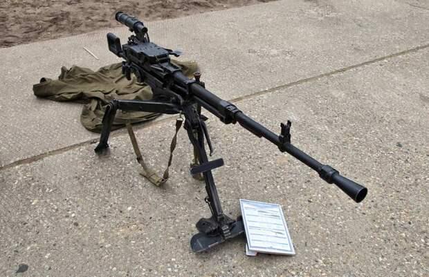 Украинские оружейники планируют испытания копии пулемёта НСВ – КМ-12,7