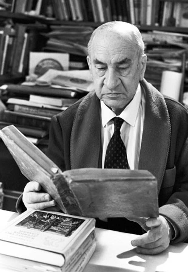 Академик Борис Рыбаков, 1988 год