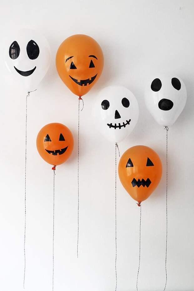 хеллоуин простые идеи