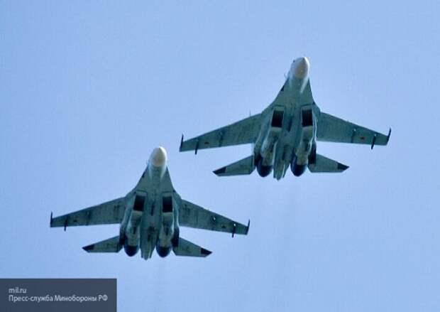 Российские истребители перехватили над Черным морем бомбардировщиков США