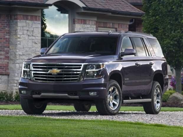 Chevrolet показала массу новых внедорожников и пикапов