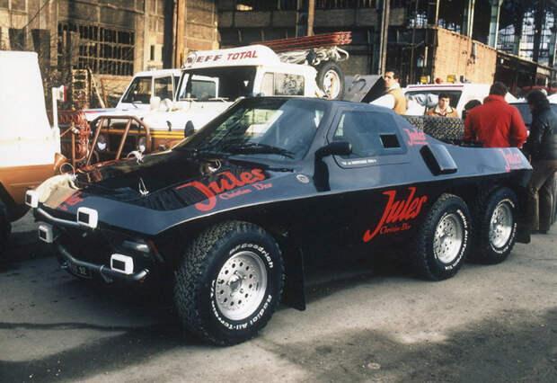 Ралли «Дакар»: самые необычные машины в истории ралли-марафона