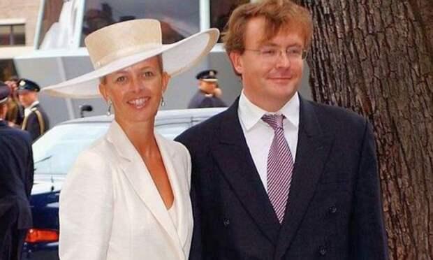 Принц Фризо Оранско-Нассауский и Мейбл Виссе-Смит. / Фото: www.express.co.uk