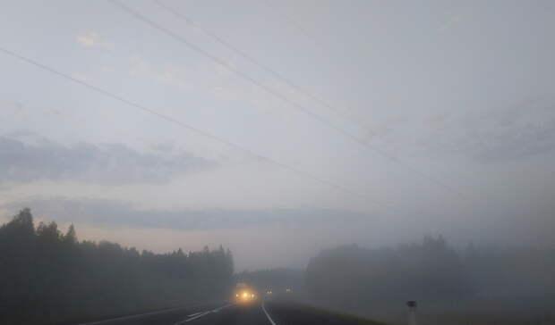 МЧС Башкирии сообщает огустом тумане надорогах