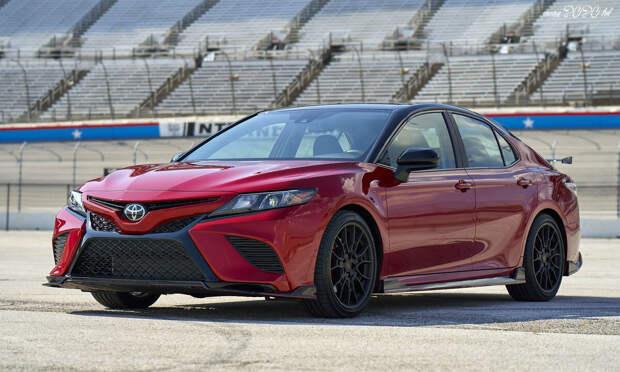 Обзор новой Toyota Camry 2021