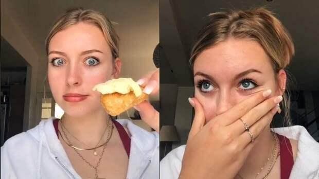 Котлеты с мороженым, орео с лососем: девушка тестирует странные сочетания еды, которые любят беременные