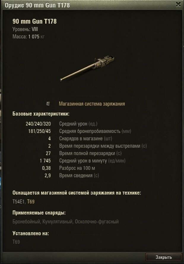 WoT. Средний танк T69 нагибатор или проходной танк? Особенности геймплея.