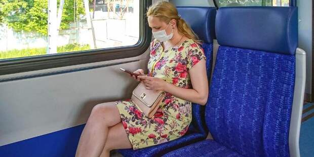 Москвичам напомнили о необходимости ношения масок