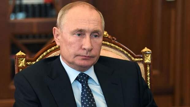 Путин назвал задержание россиян в Белоруссии акцией Украины и США