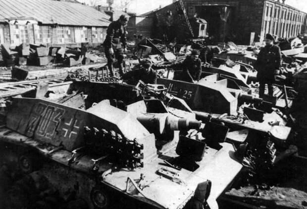 Как в СССР распорядились трофейными немецкими танками после войны