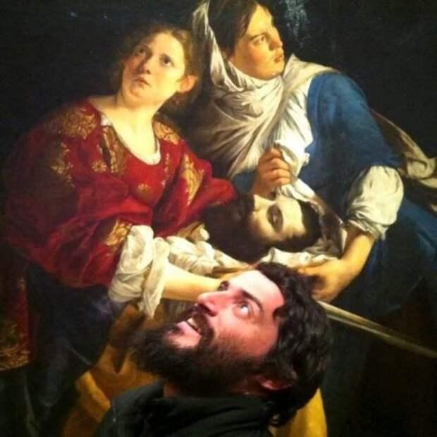 Лицом к лицу с самим собой в музее