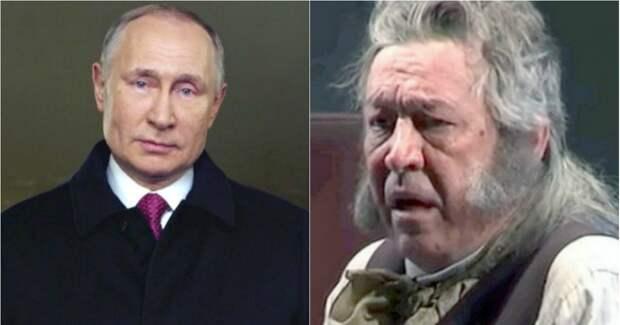 """Фото """"Путин нас кормит"""": Ефремов выступил с политическим заявлением"""