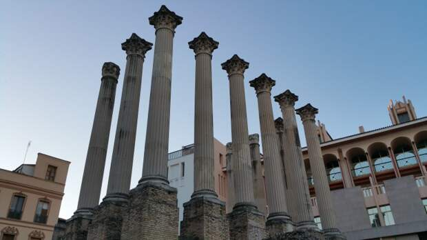 римский храм кордовы