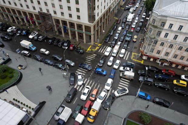 Всеразметка делается для улучшения ситуации с трафиком. ¦Фото: amsrus.ru.