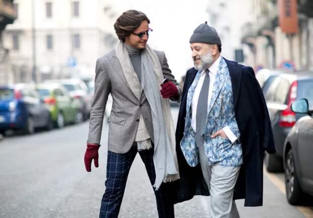 Уличная мужская мода для тех, кому за 40