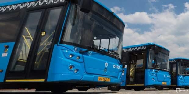 Куда могут доехать жители Митина на новом автобусе