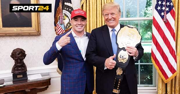 Трамп в финансовом отчете назвал стоимость чемпионского пояса UFC