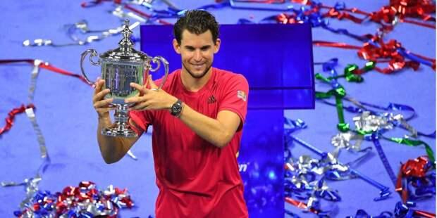 Австрийский теннисист Тим стал победителем Открытого чемпионата США